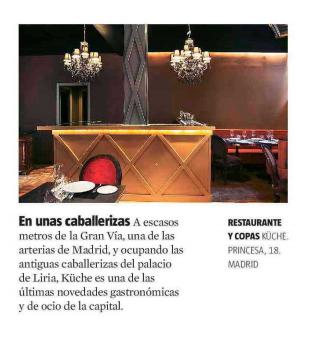 Restaurante Kuche Madrid